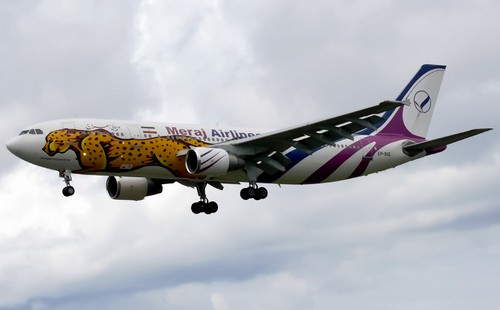 самолет Meraj Airlines